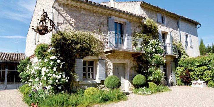 Press archives la maison de line charming bedrooms and Maison de provence decoration
